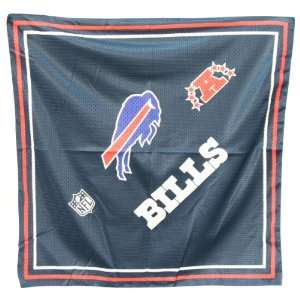 Buffalo Bills Jersey Style Bandanas (Measures 22 x 22