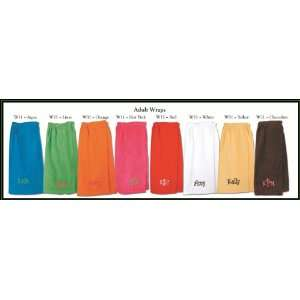 Solid Colored Towel Wraps
