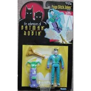 Batman & Robin Joker (Pogo Stick) Series 1 Action Figure Toys & Games
