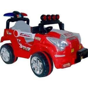 Lil? Rider Land King Battery Operated Jeep: Toys & Games