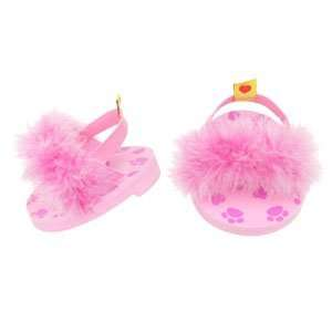 Build A Bear Workshop Pink Boa Slippers Toys & Games