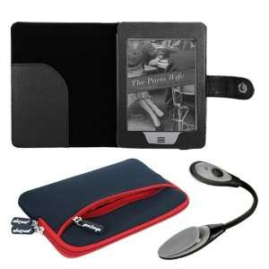 Premuim skque red glove series case+skque black leather case+black