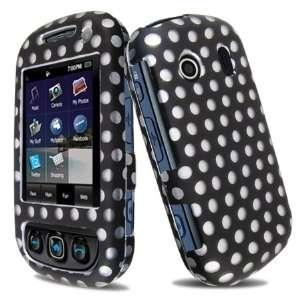 Premium   Samsung Seek M350 Protex Black/White Polka Dot