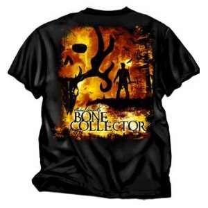 Michael Waddel Bone Collector Tee Shirt Black 2x