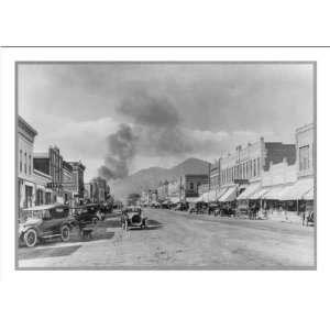 Historic Print (M) Colorado Cańon City. Street scene