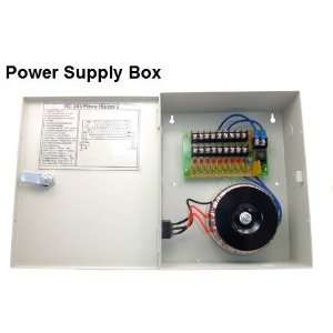 Amp PTC Fuse reset table Power Box for security cameras Electronics