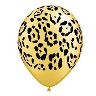 Party Decorations, Leopard Print Flowers, Leopard Paper Decorations