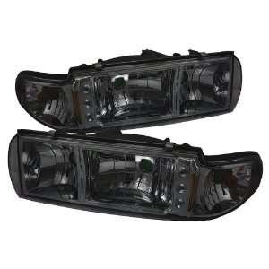 Spyder Auto Chevy Caprice / Impala 1PC LED Crystal Headlights Smoke