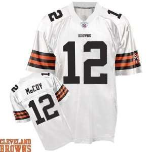 Cleveland Browns Jersey #12 Colt McCoy Authentic Football White