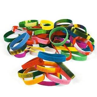 Inch Assorted Christian Religious Bracelets   12 Pack Toys & Games
