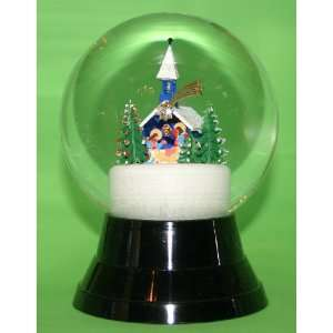 Christmas Chapel Snow Globe