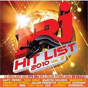 NRJ HIT LIST 2010 VOL.2 (2CD)   Achat / Vente COMPILATION NRJ HIT