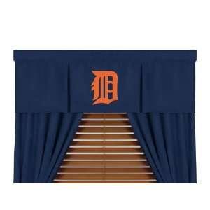 MLB Detroit Tigers 5pc Boys Drapes and Valance Set