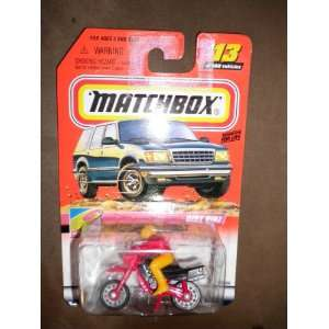 DIRT BIKE (RIDER HAS RED JACKET & YELLOW HELMENT AND PANTS) Toys