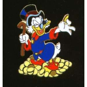 Disney Pin Scrooge McDuck and Gold Coins Pin: Everything
