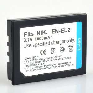 BestDealUSA Replacement Rechargeable ENEL2 Battery for