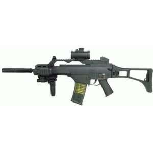 AEG Electric M85 Assault Rifle FPS 200, Scope, Tactical Light