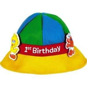 Sesame Street 1st Birthday Felt Party Hat Toys Games