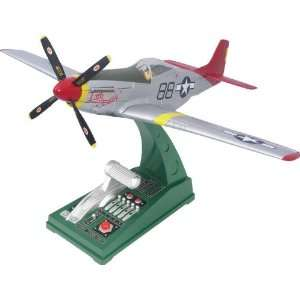 Corgi P51D Mustang Tuskegee Working Model Airplane