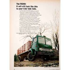 1966 Ad White Tractor Oliver Minneapolis Moline Diamond Reo Farm Truck