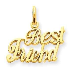 14k Best Friend Charm Jewelry
