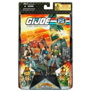 Gi Joe 3 Pack #75 Dreadnok Ripper , Thrasher , Buzzer