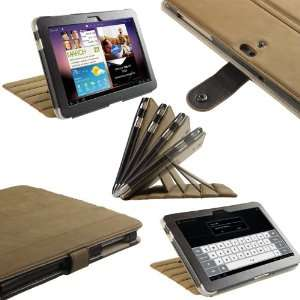 Genuine Leather Case Cover for Samsung Galaxy Tab P7500 P7510 10.1 3G