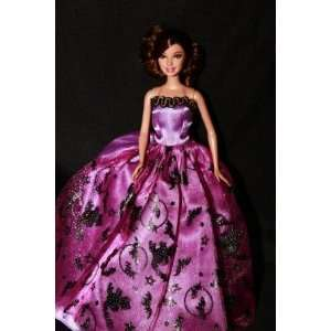 Halloween Gown, Handmade to Fit the Barbie Sized Doll  Toys & Games