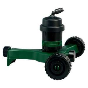 Water Cannon Gear Drive Wheeled Sprinkler 56081: Patio, Lawn & Garden