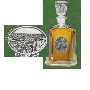 Grand Canyon Capitol Glass Decanter 24 oz: Kitchen & Dining