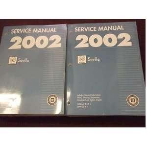 Repair Shop Manual Set FACTORY OEM 02 BOOKS (2 volume set) gm Books