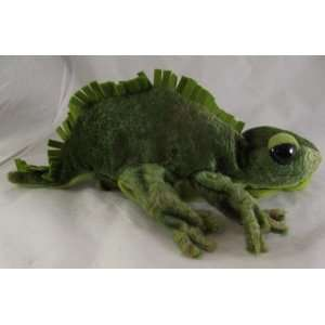 Iguana Plush Glove Hand Puppet Office Products