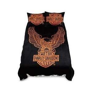 Harley Davidson Bed Blanket, Twin