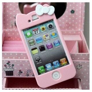 Sanrio Hello Kitty Character Cover for iPhone 4S/4 with