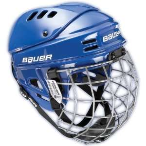 Bauer 1500 Hockey Helmet w/Cage Sports & Outdoors