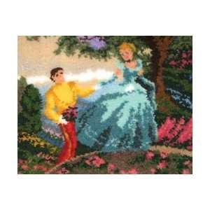 M C G Textiles Latch Hook Kit 21X26 Cinderella Wishes
