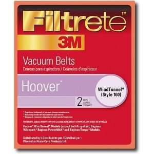 Style 160 Hoover Vacuum Cleaner Replacement Belt (2 Pack