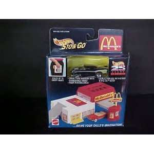 HOT WHEELS 1995 STO & GO McDonalds with car #65613 Toys & Games
