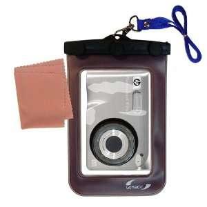 com Gomadic Clean n Dry Waterproof Camera Case for the HP PhotoSmart