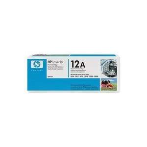 Hewlett Packard   Q2612A (HP12A) Laser Cartridge, Black