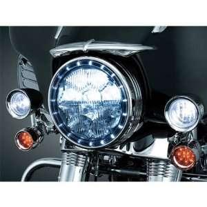 Kuryakyn 7785 LED Halo Headlight Trim for Harley Davidson