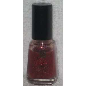 Lancome Vernis Absolu Duo Nail Polish in Red Glitter