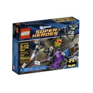 LEGO Super Heroes Catwoman Catcycle City Chase 6858  Toys & Games