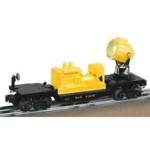 Lionel Trains 6 36787 MOW Searchlight car remote control