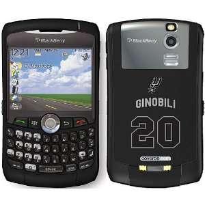 Coveroo San Antonio Spurs Manu Ginobili Blackberry Curve