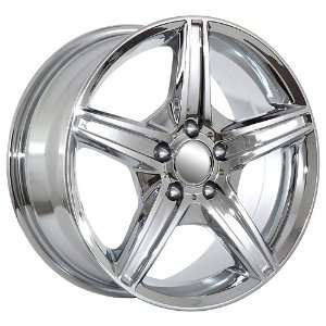 18 Inch Mercedes Benz Wheels Rims Chrome (set of 4
