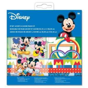 Disney 8 by 8 Mickey and Minnie Page Kit Arts, Crafts & Sewing