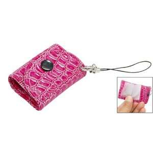 Faux Leather Bag  PDA Mobile Cell Phone Charm Strap Electronics