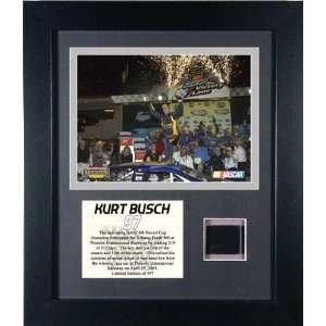 Kurt Busch   2005 Subway Fresh 500 Champion   Framed 6x8