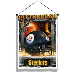 NFL Pittsburgh Steelers Photo Real Wall Hanging  Sports